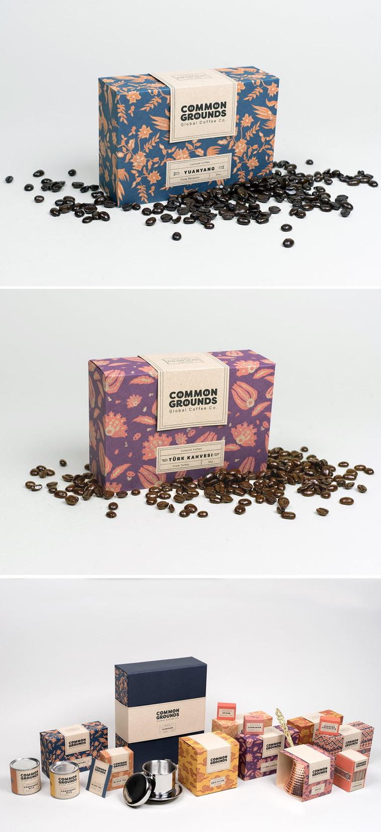 Dizajn ambalaže za kafu: 20 inspirativnih primera – Common grounds