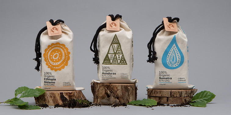 Dizajn ambalaže za kafu: 20 inspirativnih primera – Rio coffee fairtrade