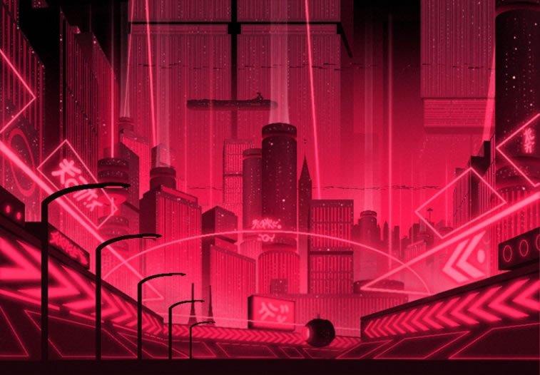 sci-fi illustration victorien aubineau metropolis 1