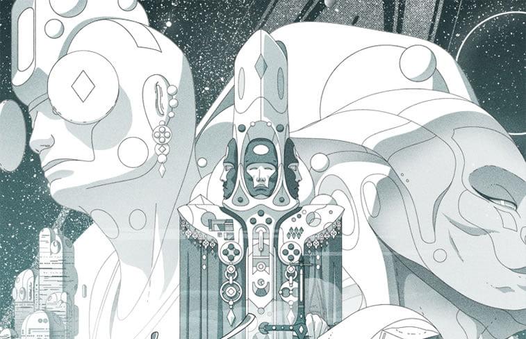 sci-fi illustration victorien aubineau octahedron 3