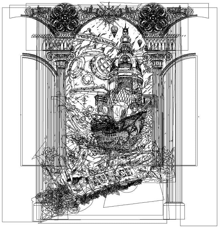 sci-fi illustration victorien aubineau realities 5