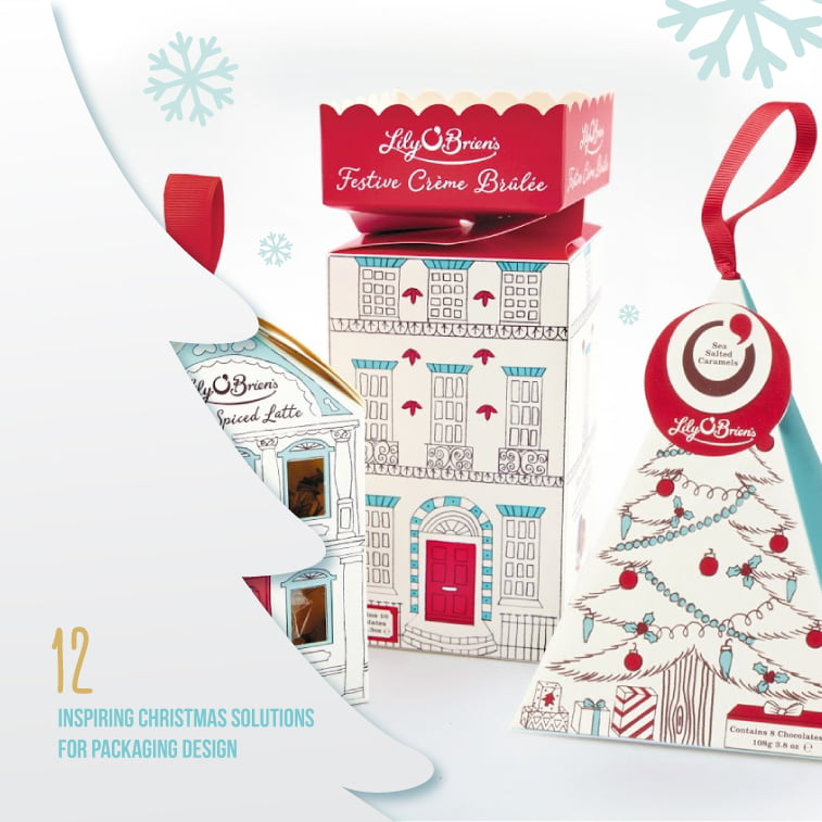 12 inspiring Christmas solutions for packaging design