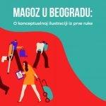 Magoz u Beogradu konceptualna ilustracija medical tourism