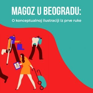 Magoz u Beogradu: O konceptualnoj ilustraciji iz prve ruke