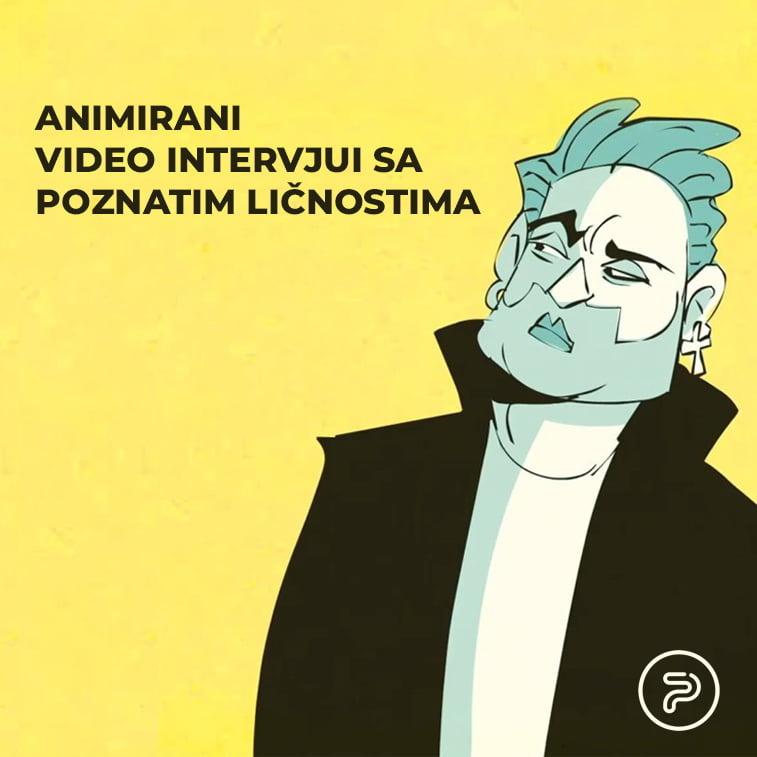 Animirani video intervjui sa poznatim ličnostima