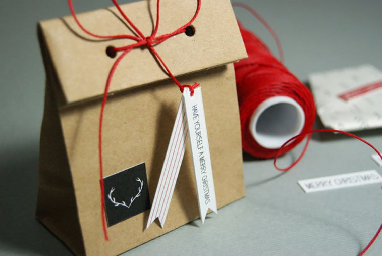 Handmade idea Christmas package 1