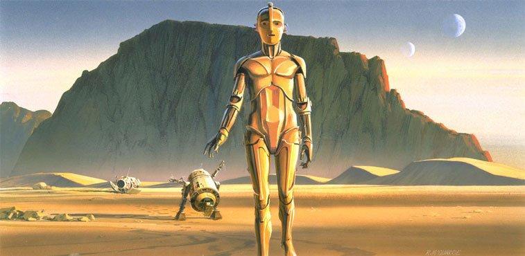 Star Wars originalne ilustracije Ralph McQuarrie 3