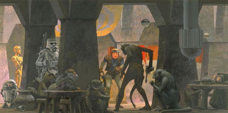 Star Wars originalne ilustracije Ralph McQuarrie 7