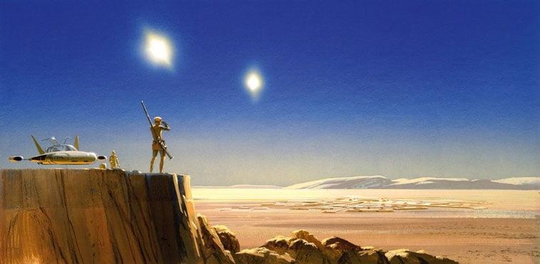 Star Wars originalne ilustarcije Ralph McQuarrie 1