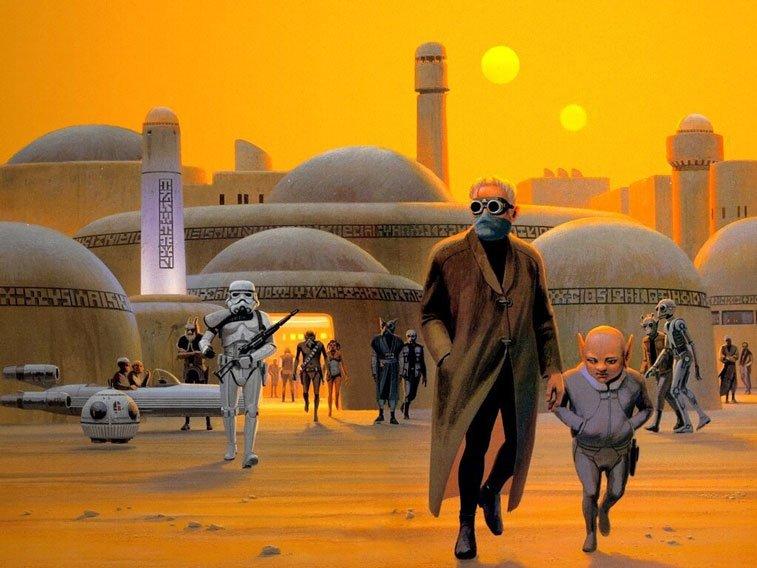 Star Wars originalne ilustarcije Ralph McQuarrie 2