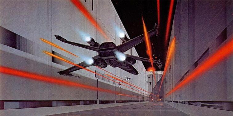Star Wars originalne ilustracije Ralph McQuarrie 4