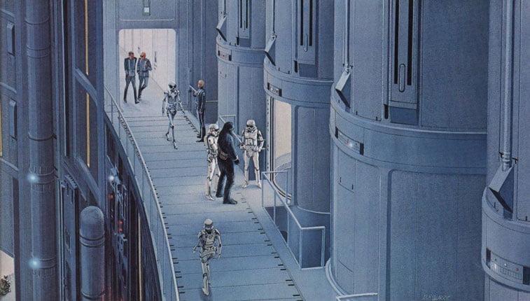 Star Wars originalne ilustracije Ralph McQuarrie 5