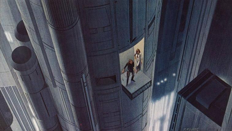 Star Wars originalne ilustracije Ralph McQuarrie 6