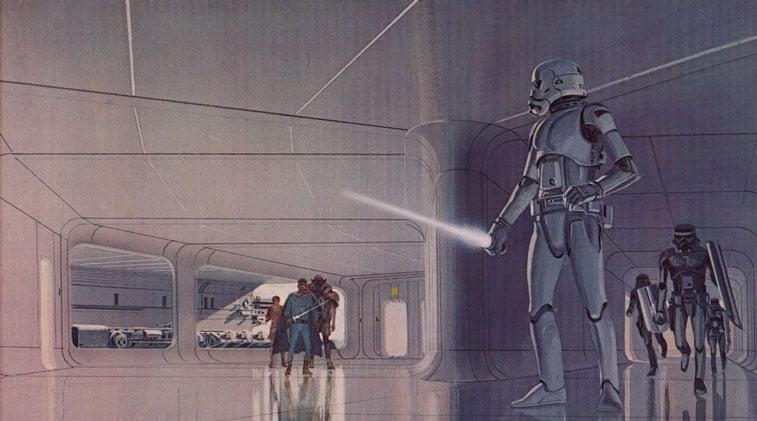 Star Wars originalne ilustracije Ralph McQuarrie 8