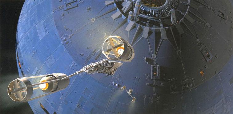 Star Wars originalne ilustracije Ralph McQuarrie 12