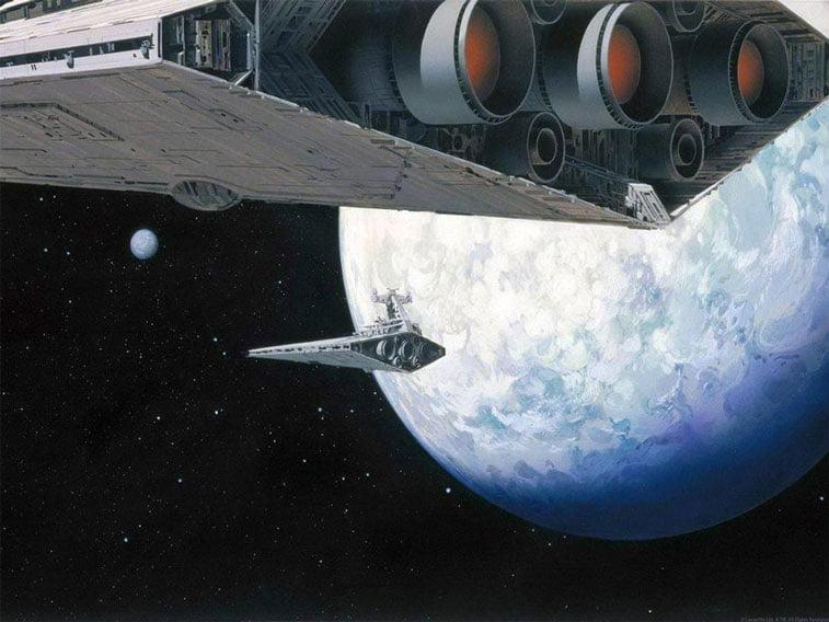 Star Wars originalne ilustracije Ralph McQuarrie 13