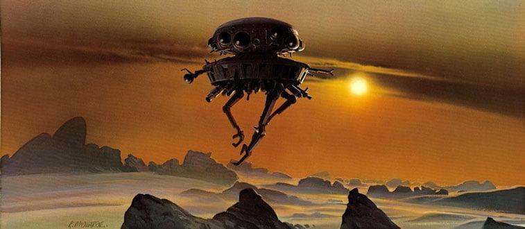 Star Wars originalne ilustracije Ralph McQuarrie 14