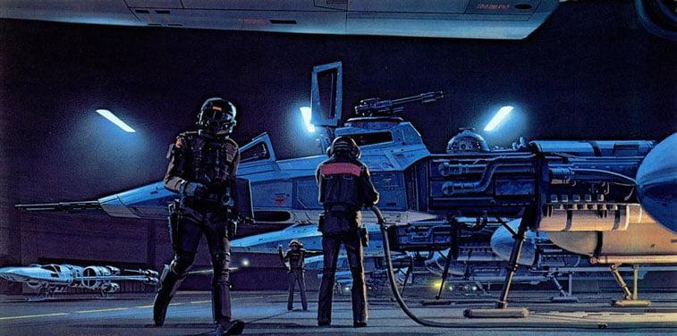 Star Wars originalne ilustracije Ralph McQuarrie 20