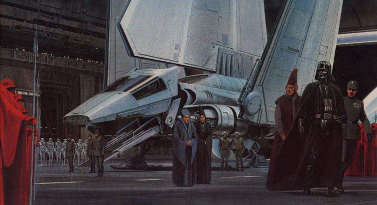 Star Wars originalne ilustracije Ralph McQuarrie 21