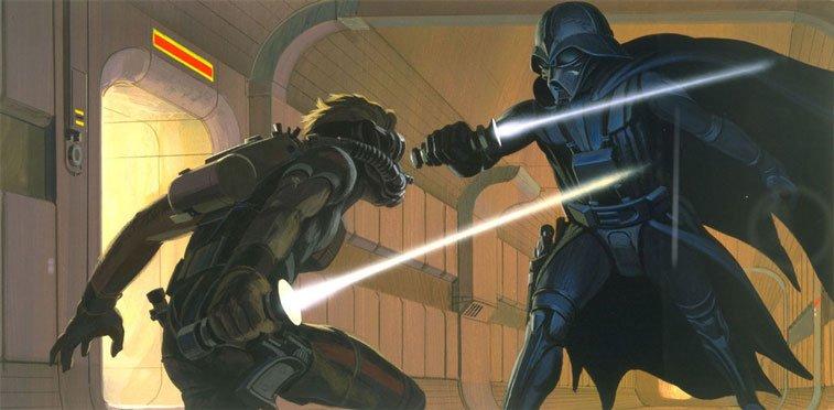 Star Wars originalne ilustracije Ralph McQuarrie 15