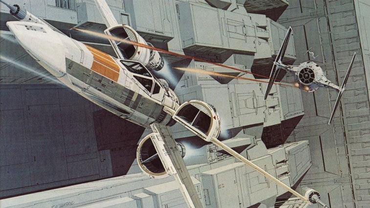 Star Wars originalne ilustracije Ralph McQuarrie 18