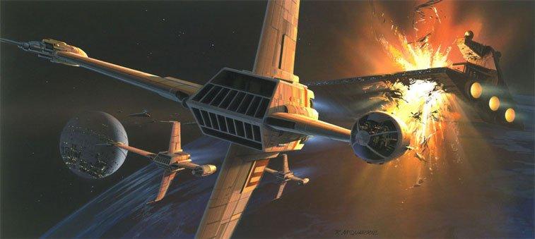 Star Wars originalne ilustracije Ralph McQuarrie 17