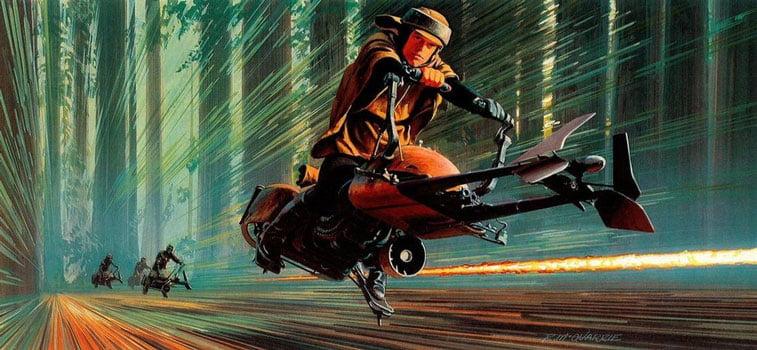 Star Wars originalne ilustracije Ralph McQuarrie 22