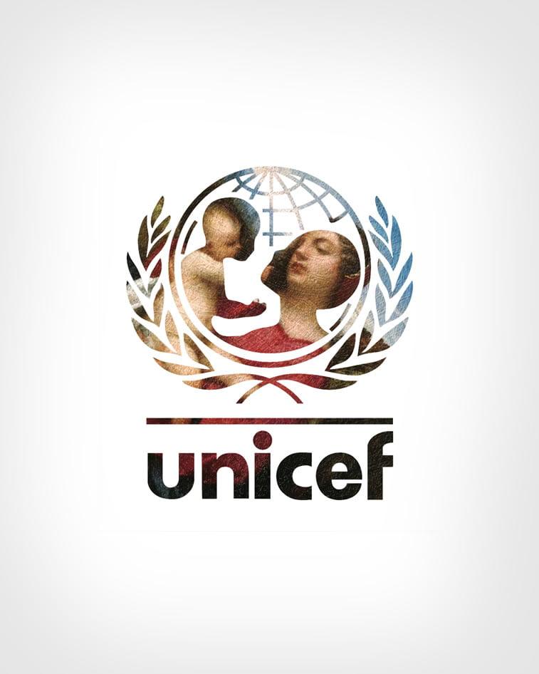 UNICEF + Bogorodica s detetom Ticijan