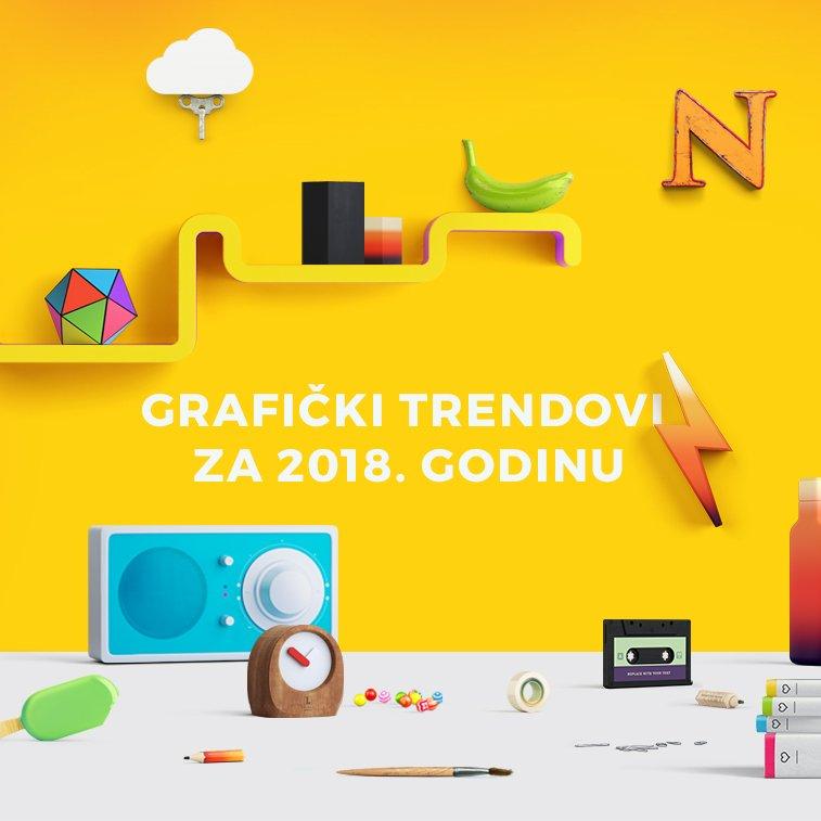 8 grafičkih trendova za 2018. godinu
