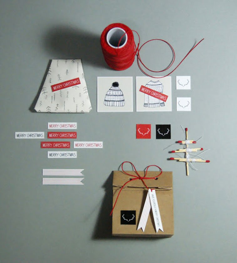 Handmade idea Christmas package 2