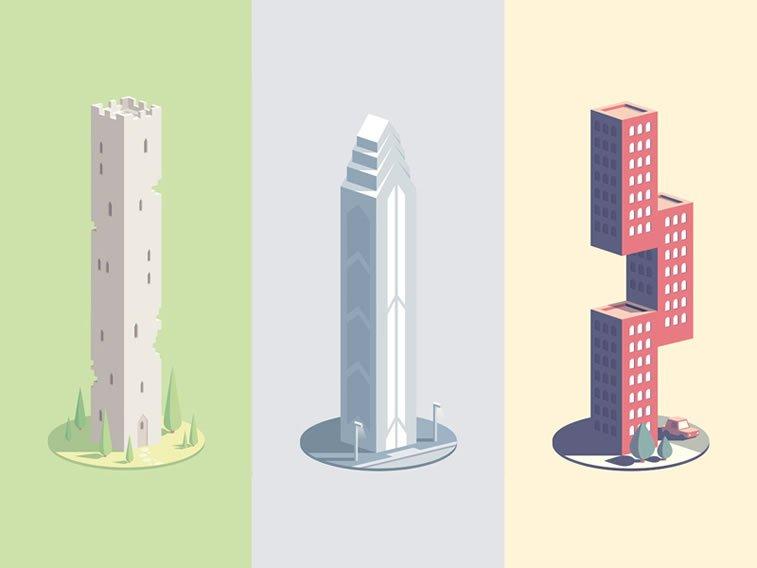 neon mob castle skyscraper modern building guilleaume 9