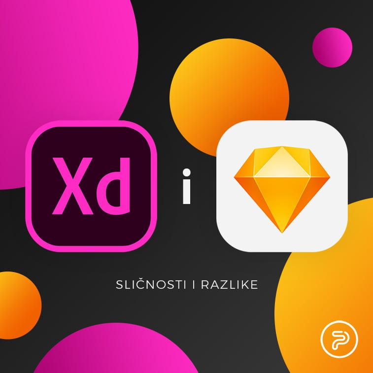 Adobe XD i Sketch: Sličnosti i razlike