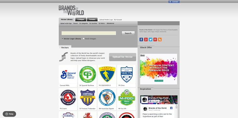 10 Brands of the World vektorski logoi screenshot