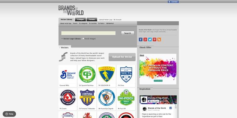 10 Brands of the World vektorski logoi screenshot