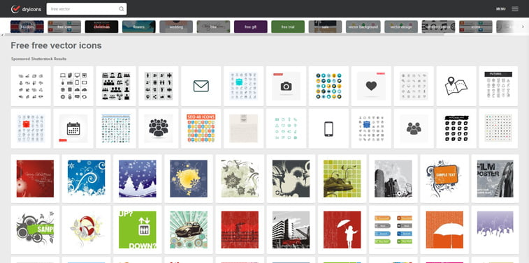 DryIcons free vectors screenshot