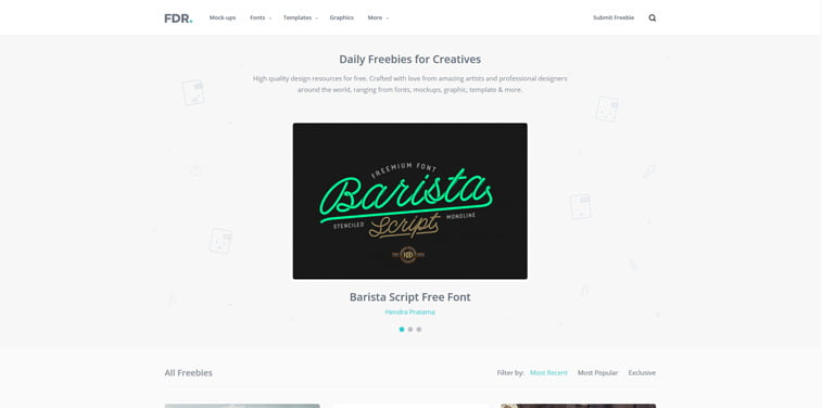 5 Free Design Resources besplatni vektori screenshot