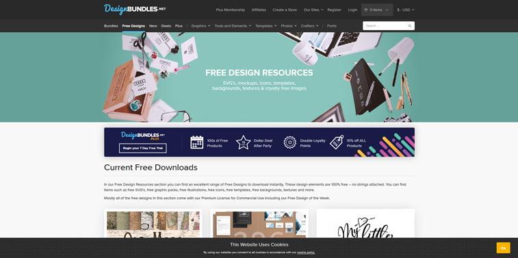6 design Bundles besplatni vektori