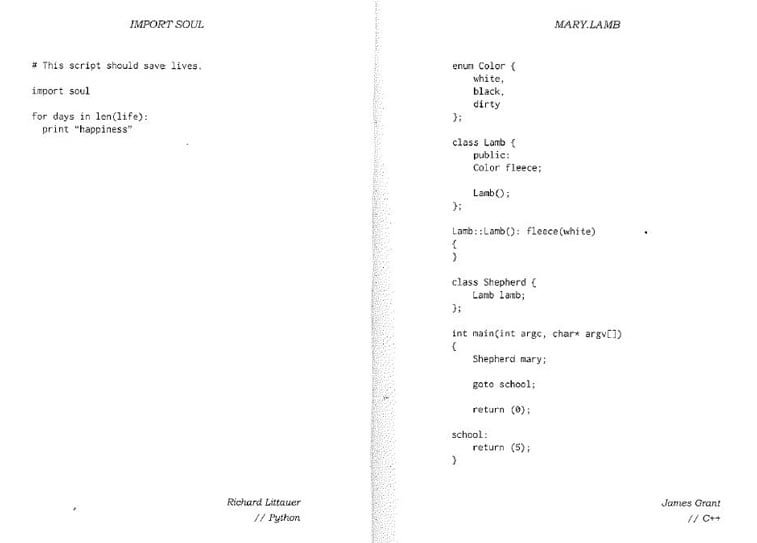 code poems page scan 2