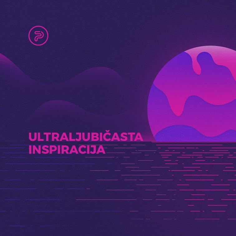 Kreativna primena ultraljubičaste boje u dizajnu za 2018.