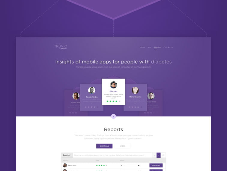 Veb dizajn Mirka Ilica ultra violet Dribbble