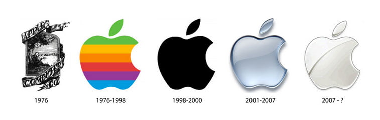 apple logo redizajn The Next Web