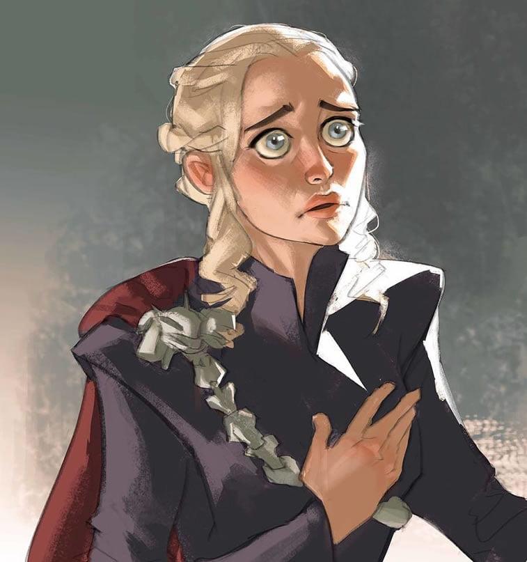khaleesi by ramon nunez