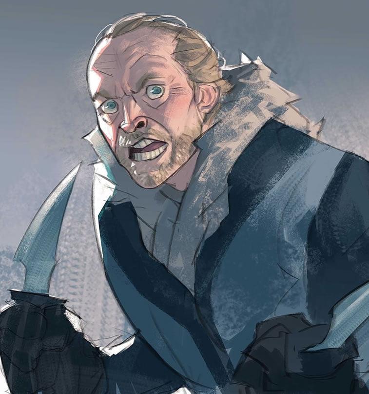 sir jorah mormont by ramon nunez