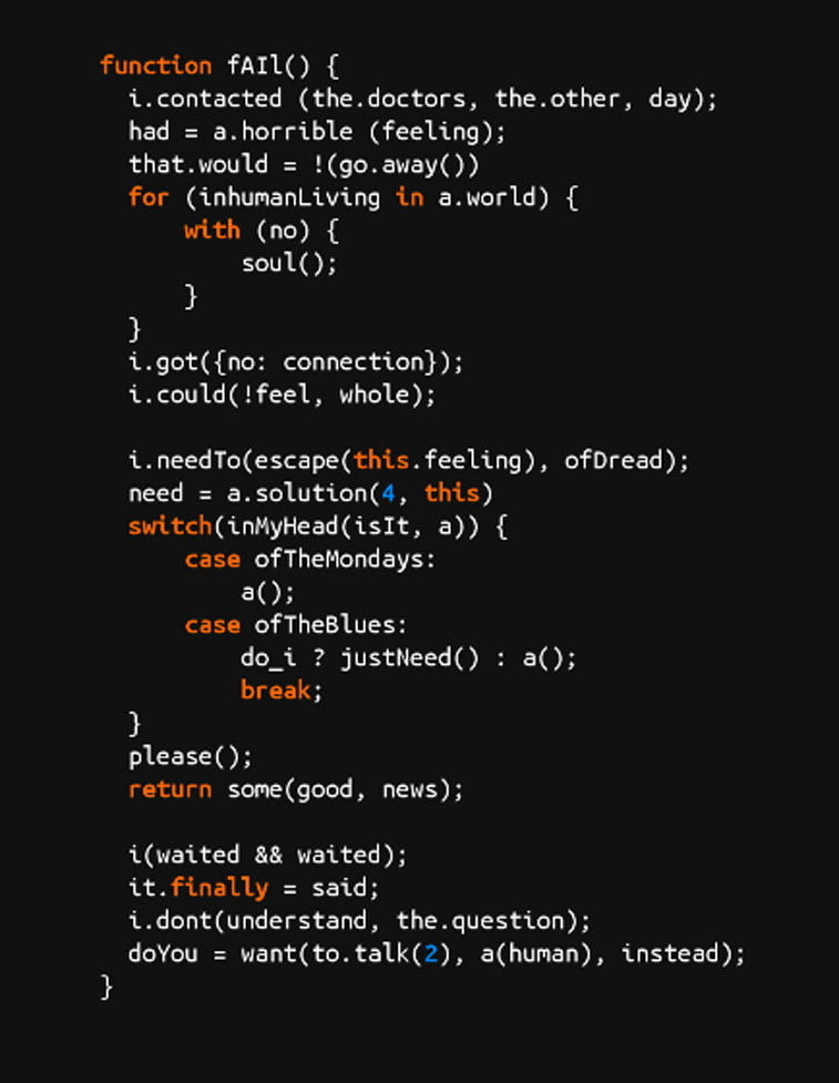 source code poetry example 10