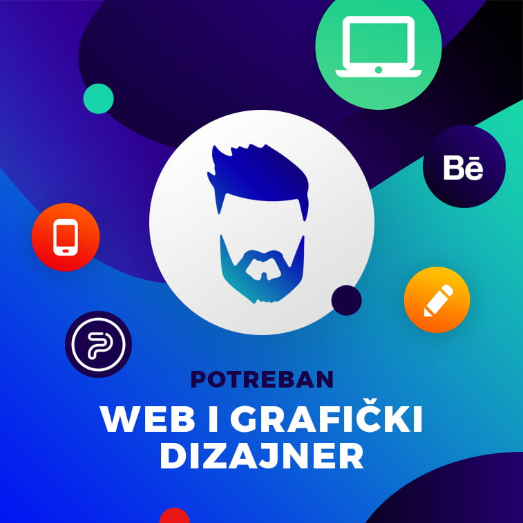 Potreban veb i grafički dizajner