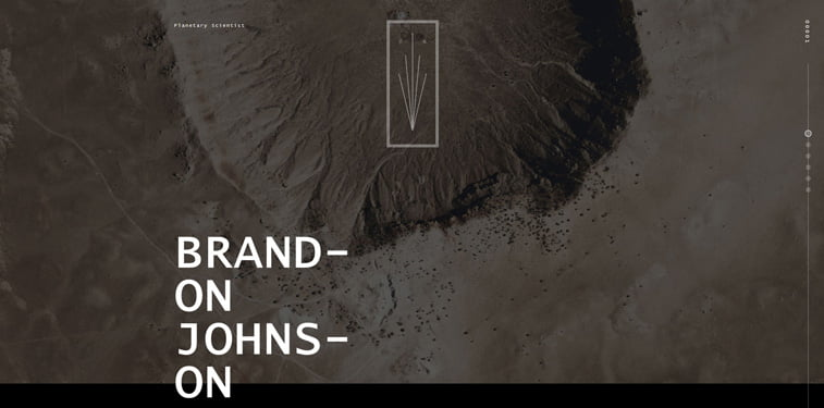 10 Brandon Johnson personal website