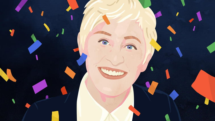 16 Petra Eriksson portarit Ellen DeGeneres