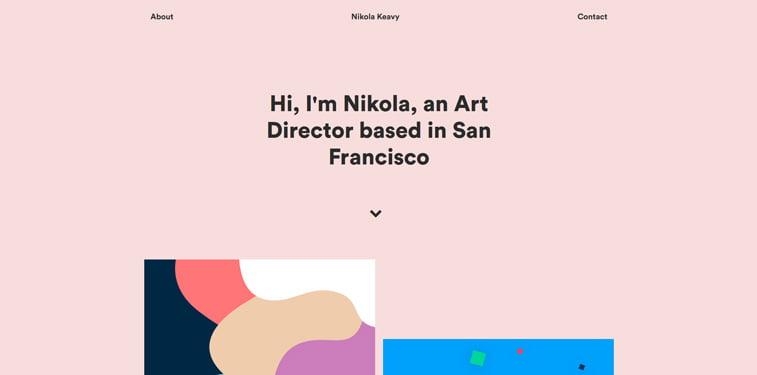 18 Nikola Keavy portfolio vebsajt