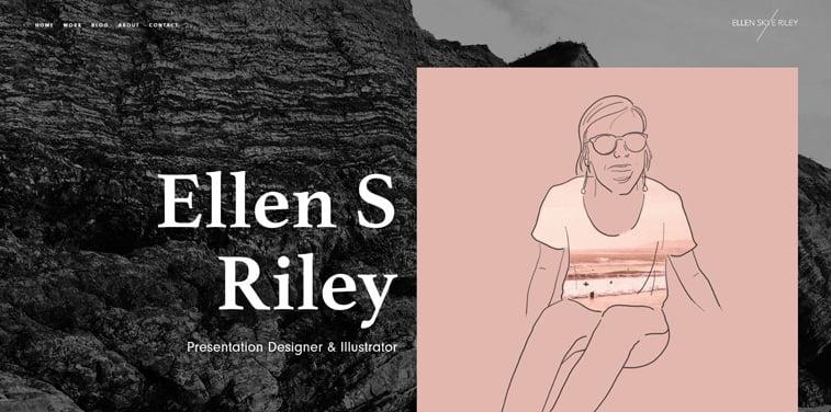 2 Ellen S Riley portfolio vebsajt
