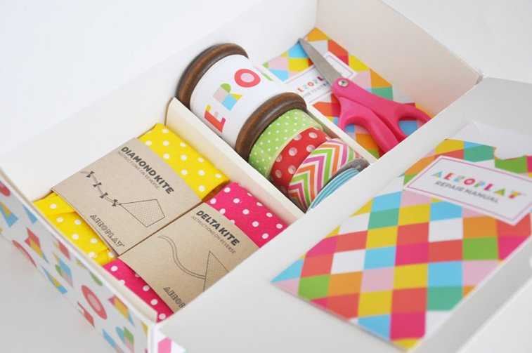 Aeroplay Kites Packaging of the world 2